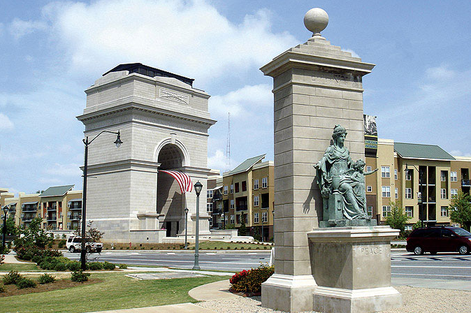 New monumental Arch in the USA dedicated to the Millennium
