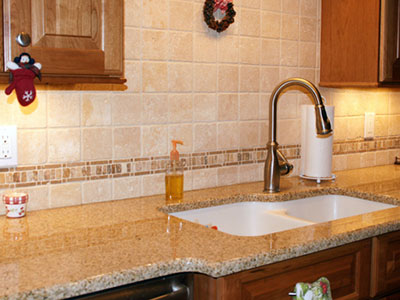 Golden Yellow Granite Countertops